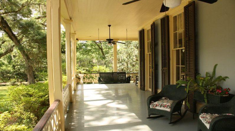 ingresso esterno di casa